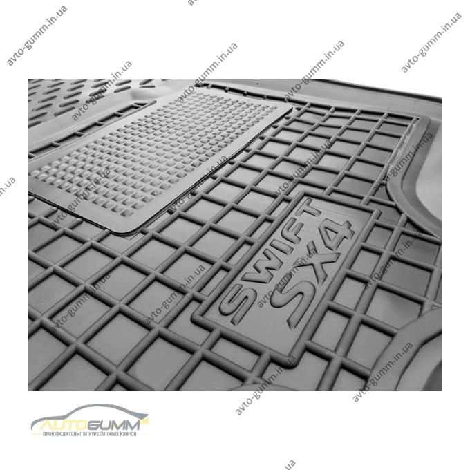 Водительский коврик в салон Suzuki SX4/Swift 2006- (Avto-Gumm)