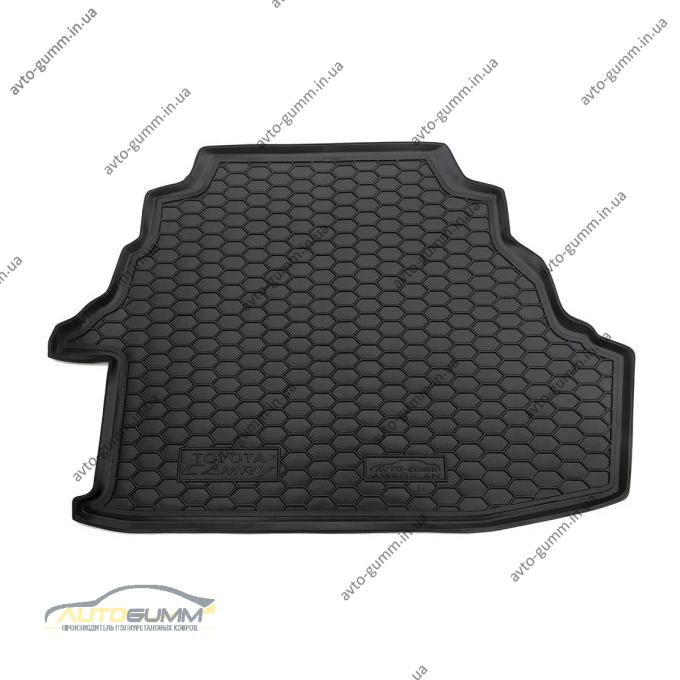 Автомобильный коврик в багажник Toyota Camry 40 2006- (Европа 3.5L/Америка 2.4L) (Avto-Gumm)