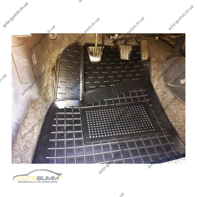 Автомобільні килимки в салон Daewoo Lanos 1996- (Avto-Gumm)