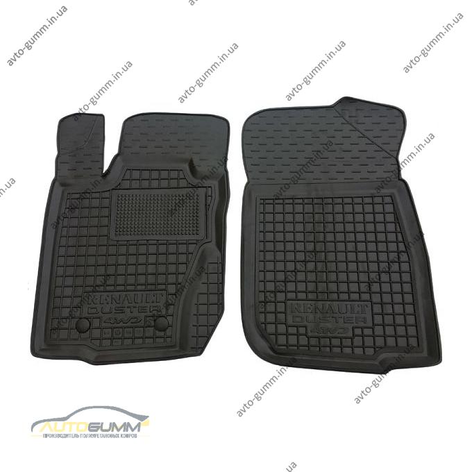 Передние коврики в автомобиль Renault Duster 4WD 2010- (Avto-Gumm)