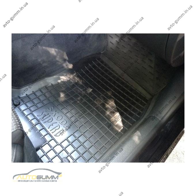 Автомобильные коврики в салон Skoda SuperB 2001-2008 (Avto-Gumm)