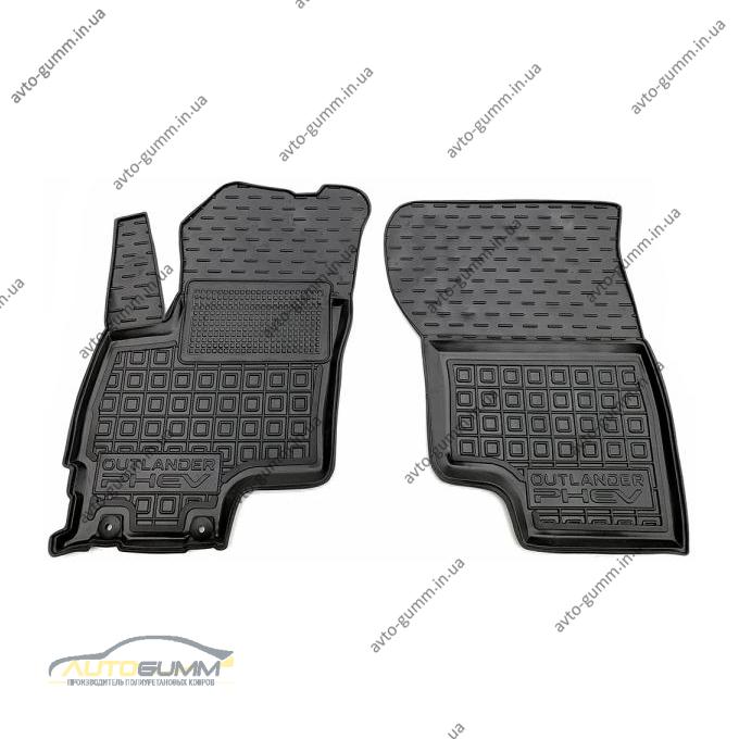 Передние коврики в автомобиль Mitsubishi Outlander 2012- PHEV (Avto-Gumm)