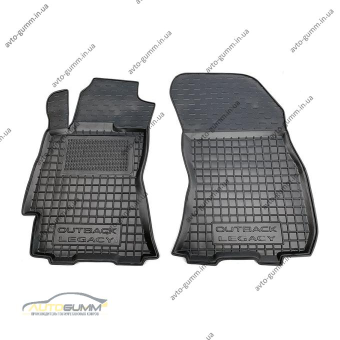 Передние коврики в автомобиль Subaru Outback/Legacy 2010- (Avto-Gumm)