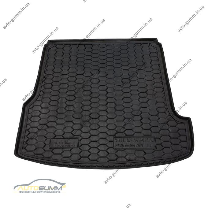Автомобильный коврик в багажник Volkswagen Passat B5 1996- (Universal) (Avto-Gumm)