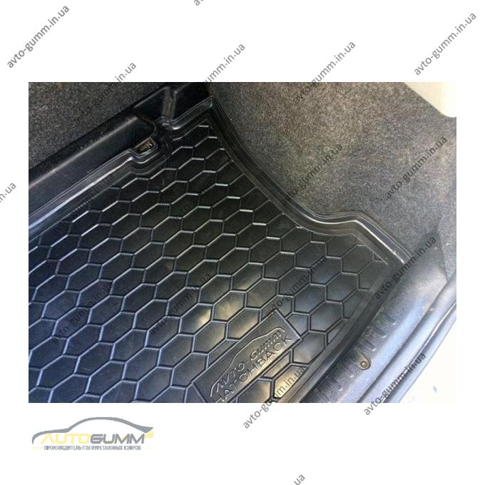 Автомобильный коврик в багажник Renault Clio 2 1998- Hatchback (Avto-Gumm)