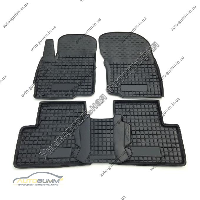 Автомобильные коврики в салон BYD F3 2005- (АКПП) (Avto-Gumm)
