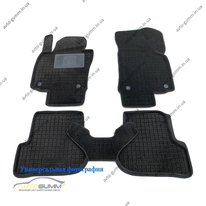 Гибридные коврики в салон Audi Q5 2009- (AVTO-Gumm)