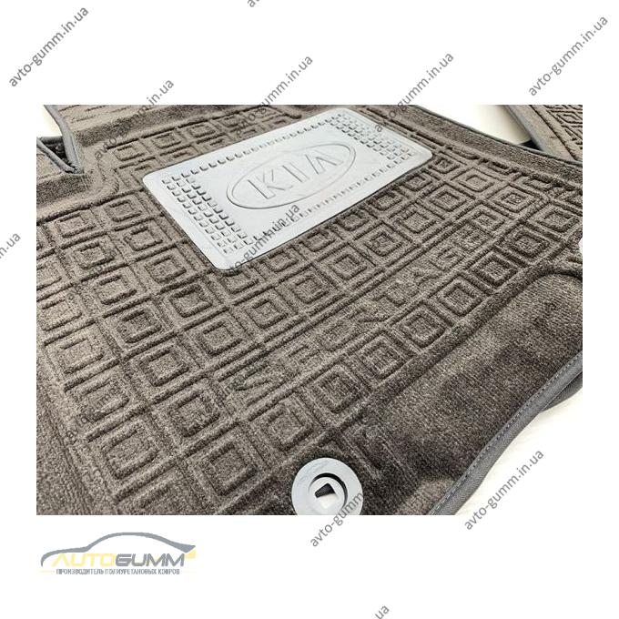 Гибридные коврики в салон Kia Sportage 4 2016- (AVTO-Gumm)