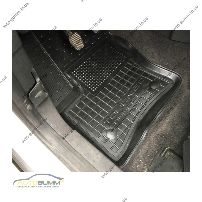 Водительский коврик в салон Ford Connect 2013- (Avto-Gumm)
