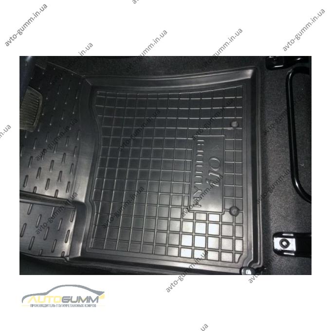 Автомобильные коврики в салон Hyundai i10 2014- (Avto-Gumm)