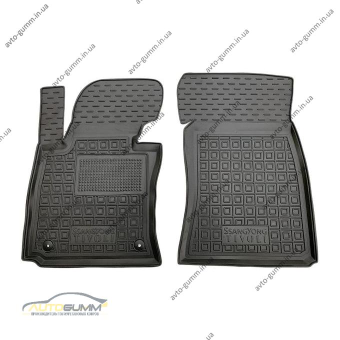 Передние коврики в автомобиль SsangYong Tivoli 2016- (Avto-Gumm)