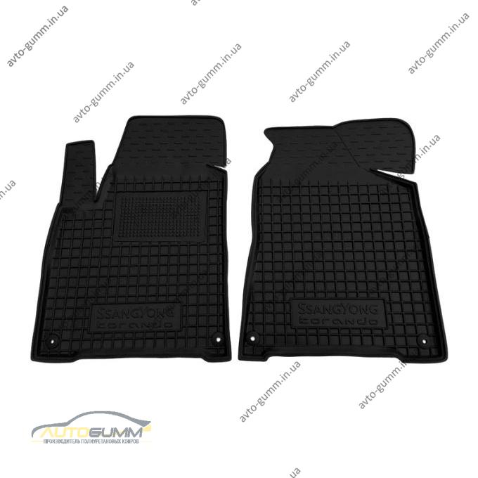 Передние коврики в автомобиль Ssang Yong Korando 2010- (Avto-Gumm)