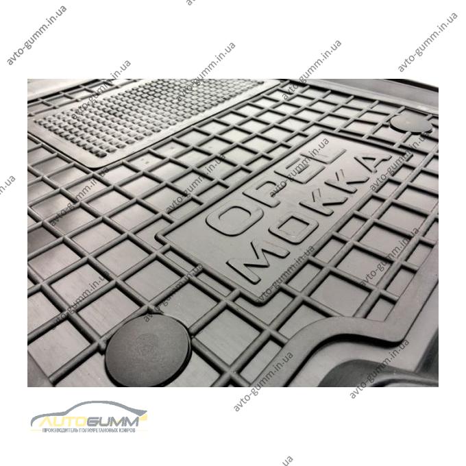 Водительский коврик в салон Opel Mokka 2013- (Avto-Gumm)