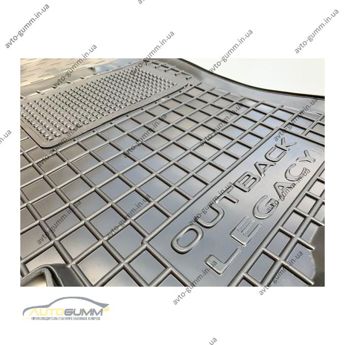 Водительский коврик в салон Subaru Outback/Legacy 2010- (Avto-Gumm)