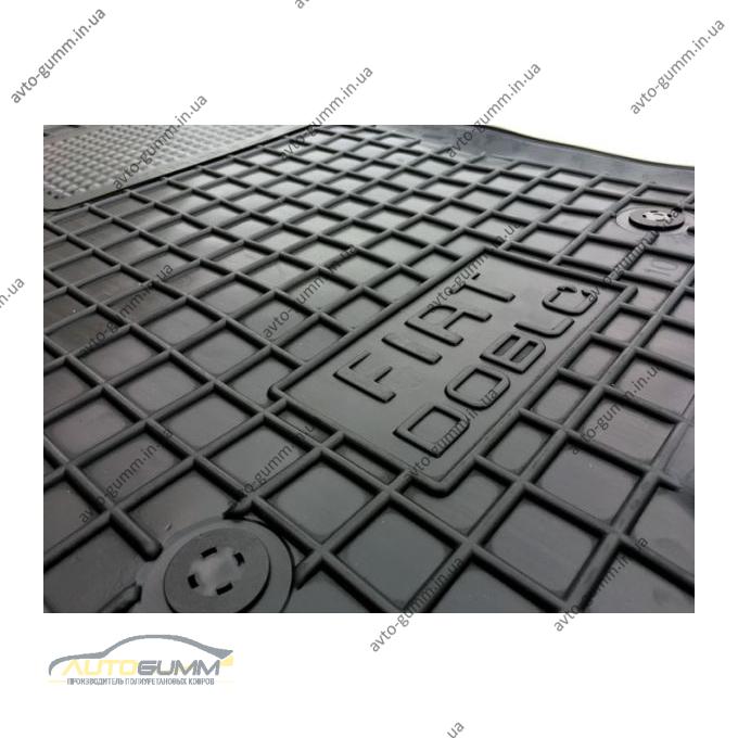 Автомобильные коврики в салон Fiat Doblo 2010- (Avto-Gumm)