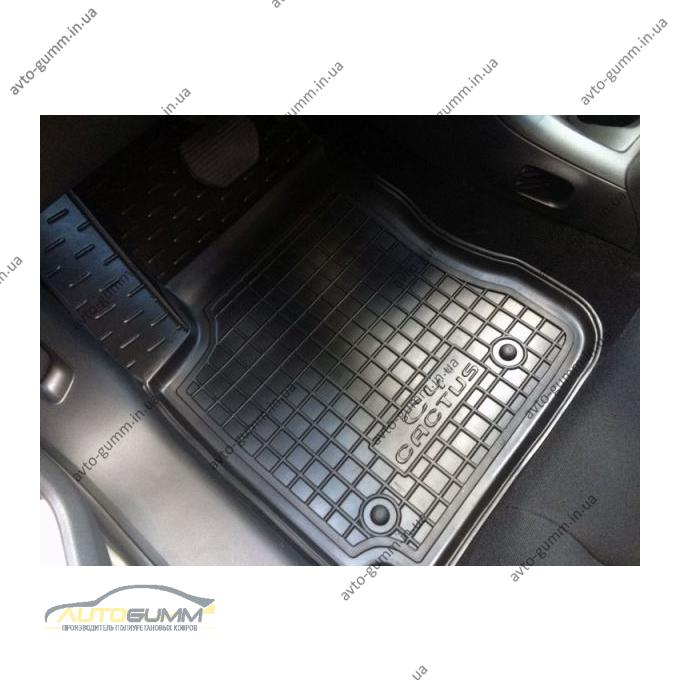 Автомобильные коврики в салон Citroen C4 Cactus 2015- (Avto-Gumm)