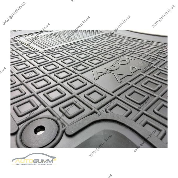 Автомобильные коврики в салон Audi A4 (B8) 2008- (Avto-Gumm)