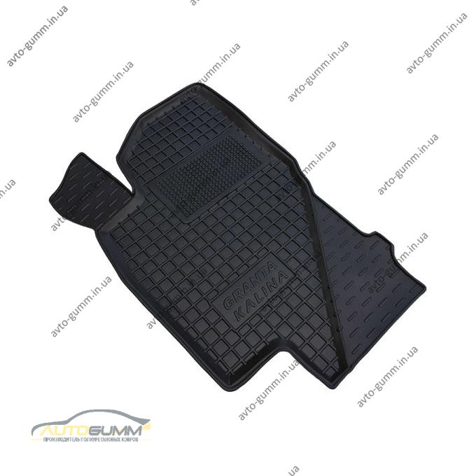 Водительский коврик в салон ВАЗ Lada Kalina 04-/Granta 11- (Avto-Gumm)