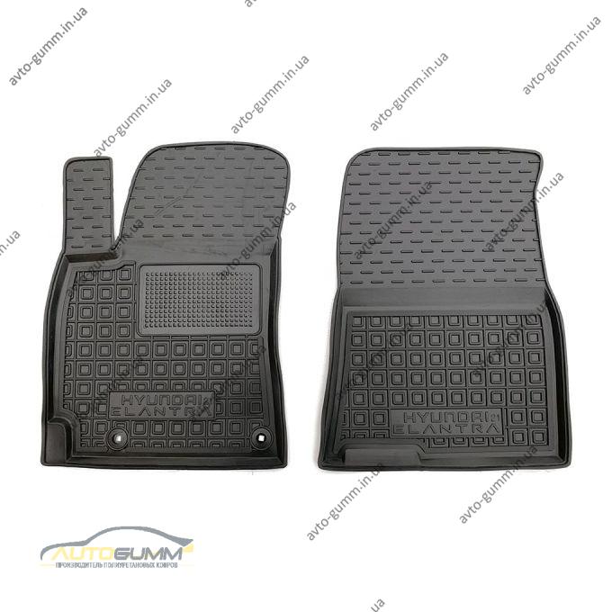 Передние коврики в автомобиль Hyundai Elantra 2021- (AVTO-Gumm)