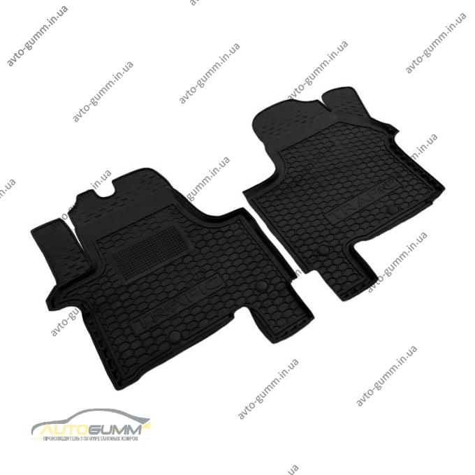 Автомобильные коврики в салон Renault Trafic 3 16-/Opel Vivaro 15- (передние) (Avto-Gumm)