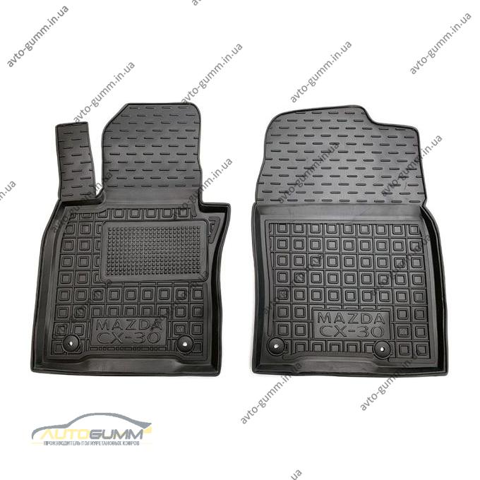 Передние коврики в автомобиль Mazda CX-30 2020- (Avto-Gumm)