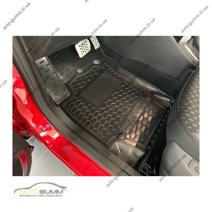 Передние коврики в автомобиль Renault Captur 2015- (Avto-Gumm)