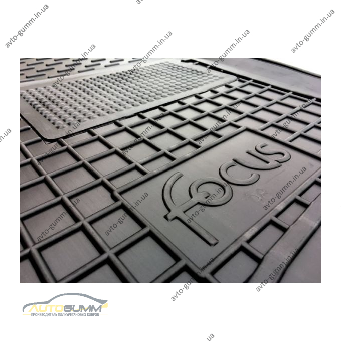 Водительский коврик в салон Ford Focus 1998-2004 (Avto-Gumm)