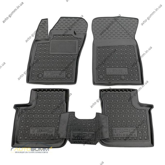 Автомобільні килимки в салон Fiat Tipo 2016- Hatchback (Avto-Gumm)