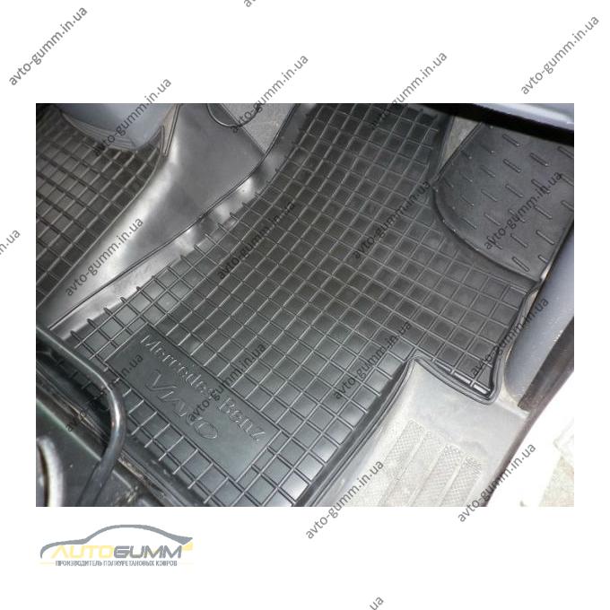 Автомобильные коврики в салон Mercedes Vito/Viano (W639) 2003- (Avto-Gumm)