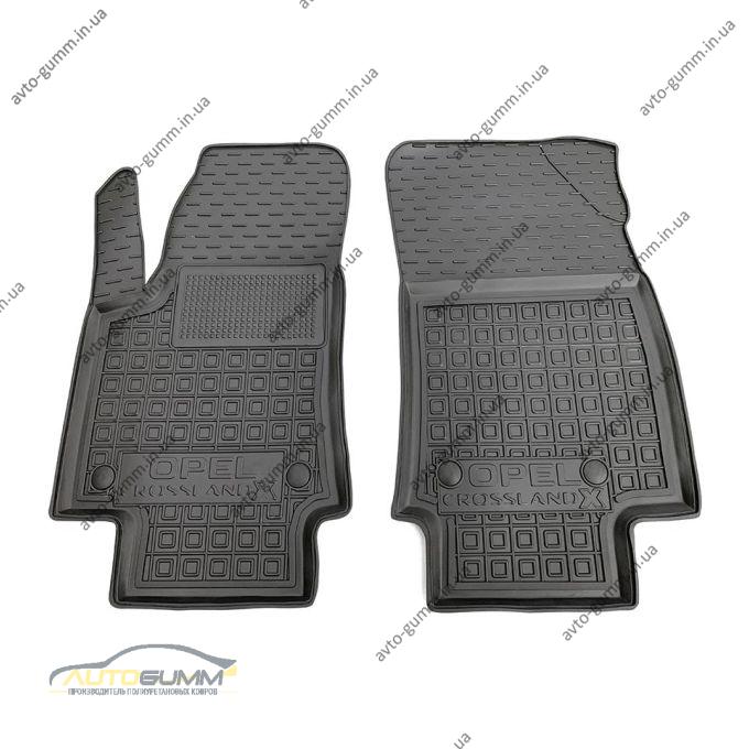 Передние коврики в автомобиль Opel Crossland X 2019- (Avto-Gumm)