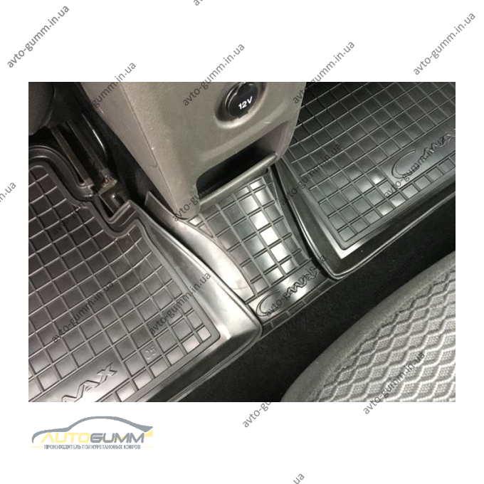 Автомобильные коврики в салон Ford C-Max 2002-2010 (Avto-Gumm)