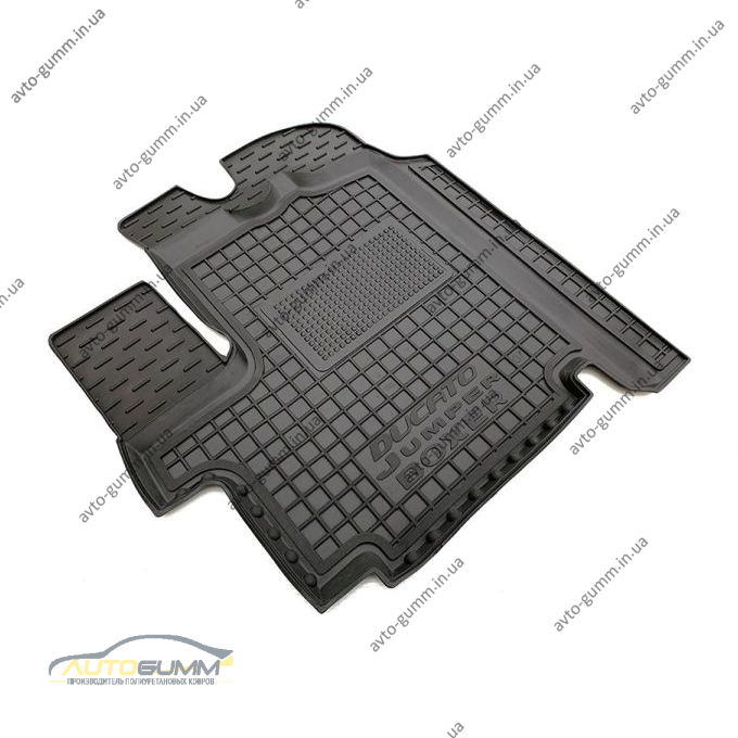 Водійський килимок в салон Fiat Ducato 07-/Citroen Jumper 07-/Peugeot Boxer 06- (Avto-Gumm)