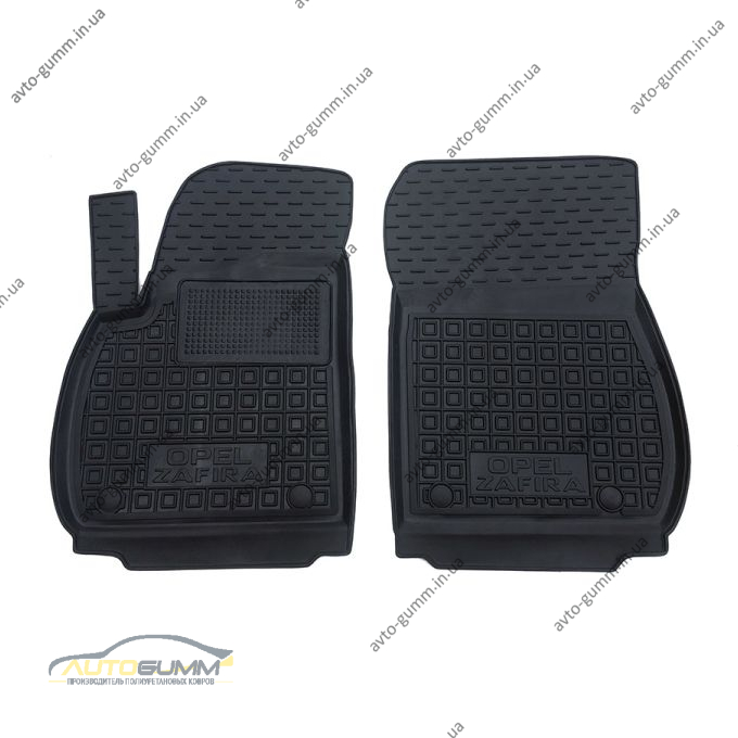 Передние коврики в автомобиль Opel Zafira C 2011- (Avto-Gumm)