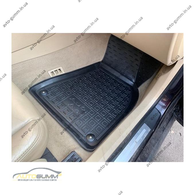 Передние коврики в автомобиль Audi A4 (B6/B7) 2001-2007 (Avto-Gumm)