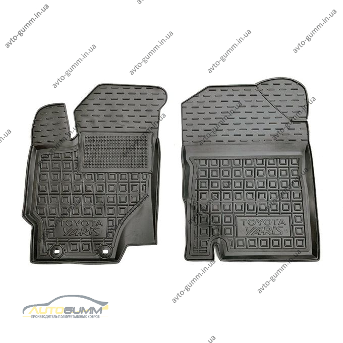 Передние коврики в автомобиль Toyota Yaris 2011- (Avto-Gumm)