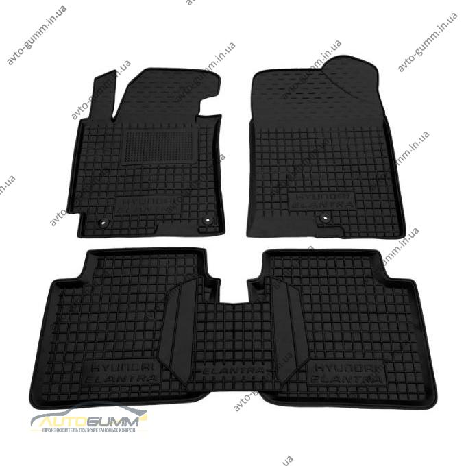 Автомобильные коврики в салон Hyundai Elantra 2014- (MD/FL) (Avto-Gumm)