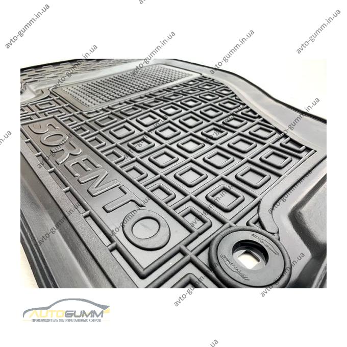Водительский коврик в салон Kia Sorento 2002-2009 (Avto-Gumm)