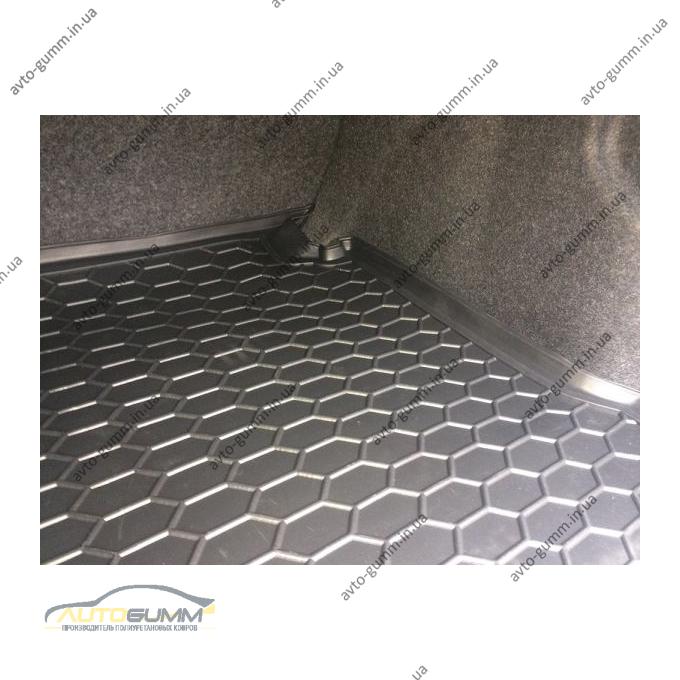 Автомобильный коврик в багажник Volkswagen Passat B7 2011- USA (Avto-Gumm)