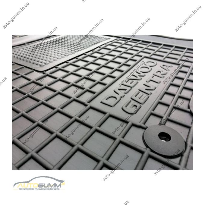 Автомобильные коврики в салон Daewoo Gentra 2013- (Avto-Gumm)