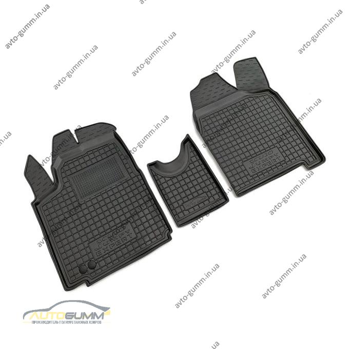 Автомобильные коврики в салон Citroen Jumpy 07-/Fiat Scudo 07-/Peugeot Expert 07- (V1.6) (Avto-Gumm)