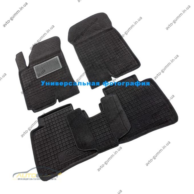 Гибридные коврики в салон Chevrolet Orlando 2011- (5 мест) (AVTO-Gumm)