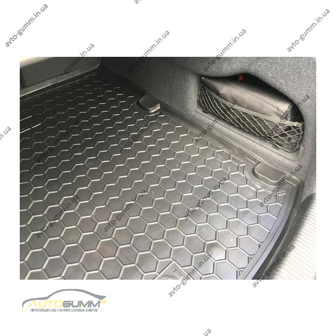 Автомобильный коврик в багажник Audi A6 (C7) 2012- Sedan (Avto-Gumm)
