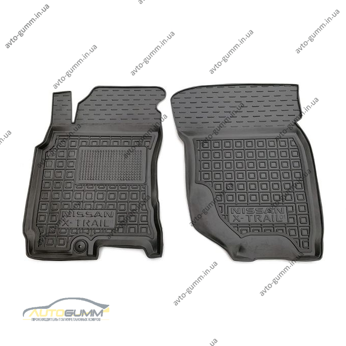 Передние коврики в автомобиль Nissan X-Trail (T30) 2001-2007 (Avto-Gumm)