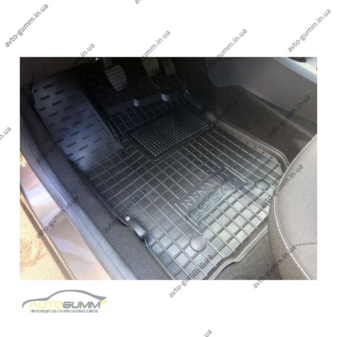 Передние коврики в автомобиль Renault Logan 2013- (Avto-Gumm)