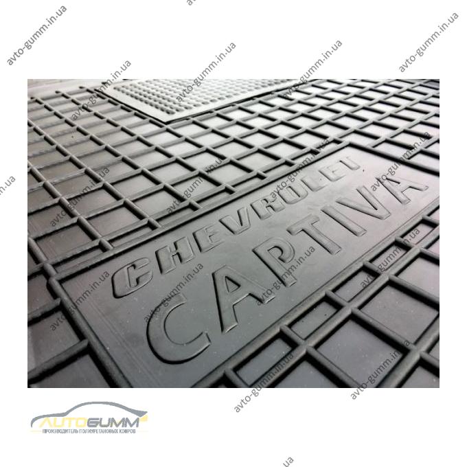 Водительский коврик в салон Chevrolet Captiva 2012- (Avto-Gumm)