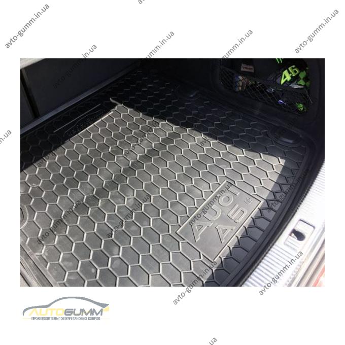 Автомобильный коврик в багажник Audi A5 (B8) Sportback 2009- (Avto-Gumm)