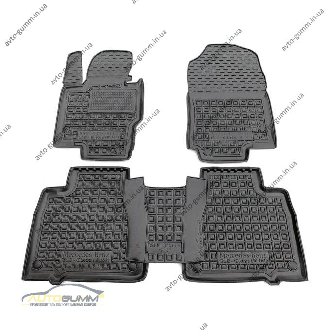 Автомобильные коврики в салон Mercedes GLE (W167) 2019- (Avto-Gumm)