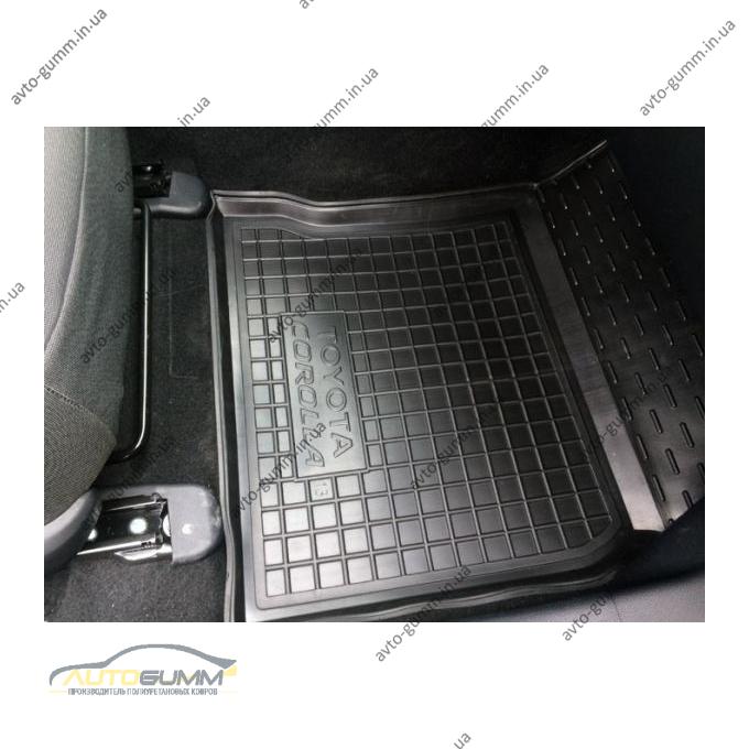 Передние коврики в автомобиль Toyota Corolla 2013- (Avto-Gumm)