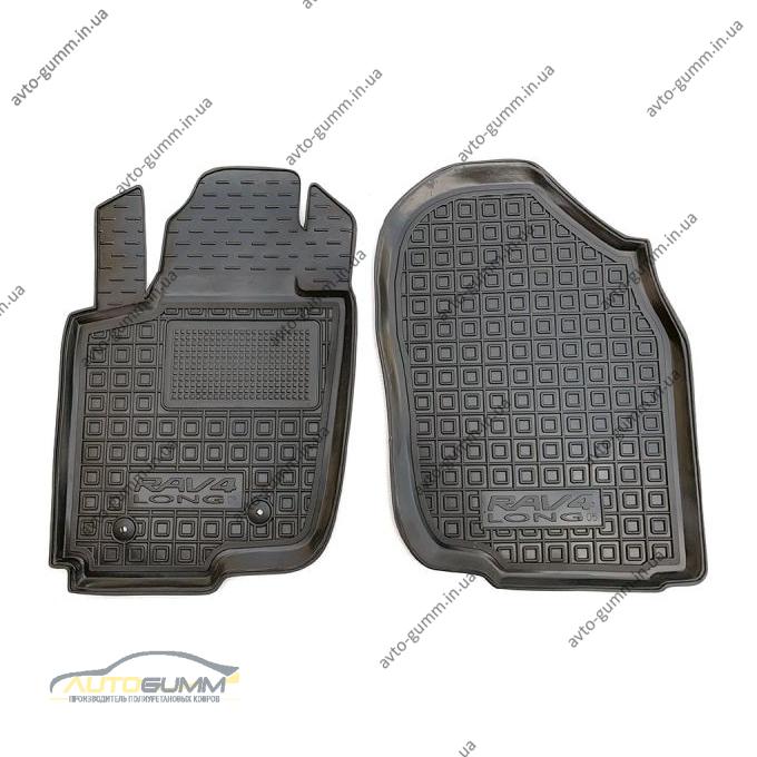 Передние коврики в автомобиль Toyota RAV4 2005- Long (Avto-Gumm)