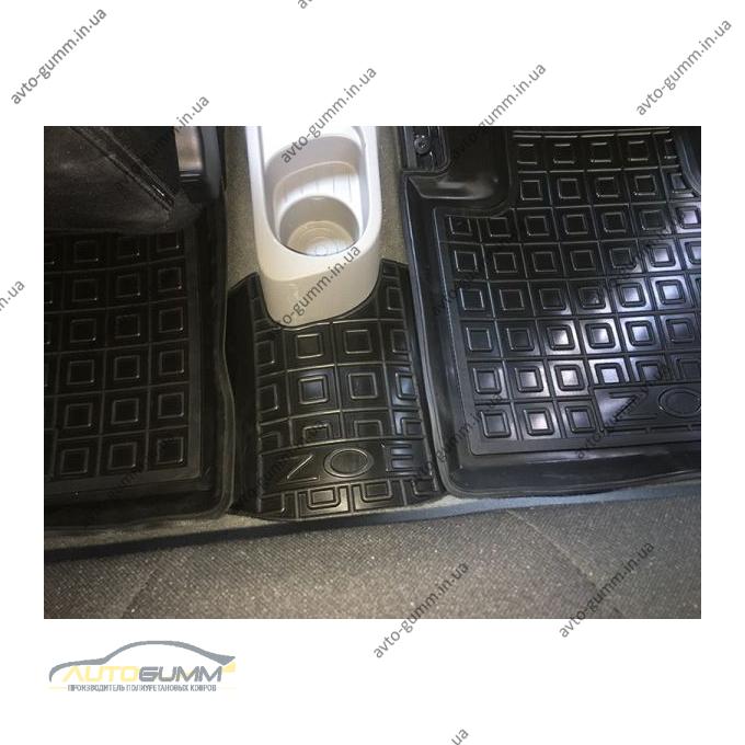 Автомобильные коврики в салон Renault Zoe 2013- (Avto-Gumm)